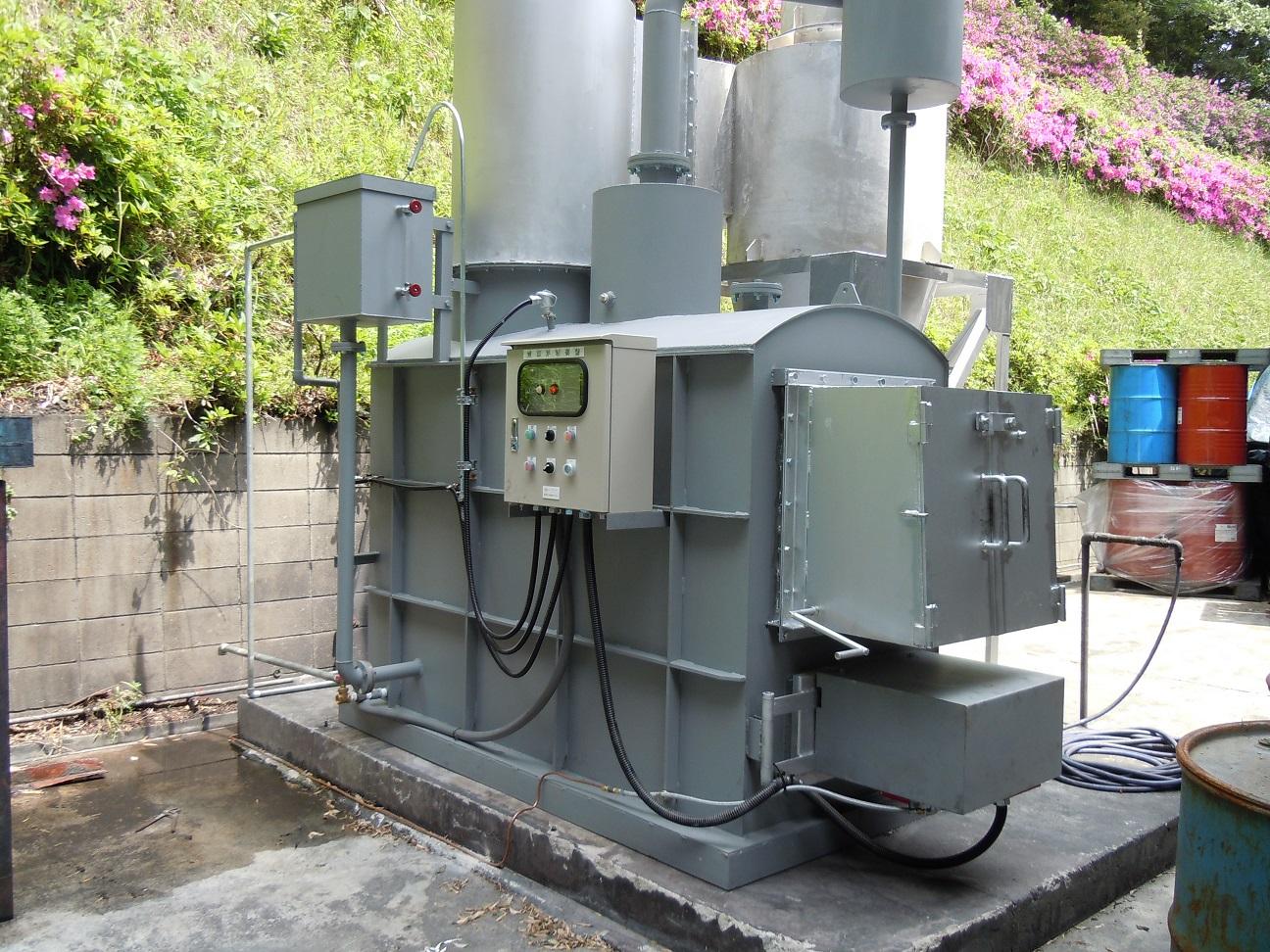 Y-50型 稲敷市 化学工場