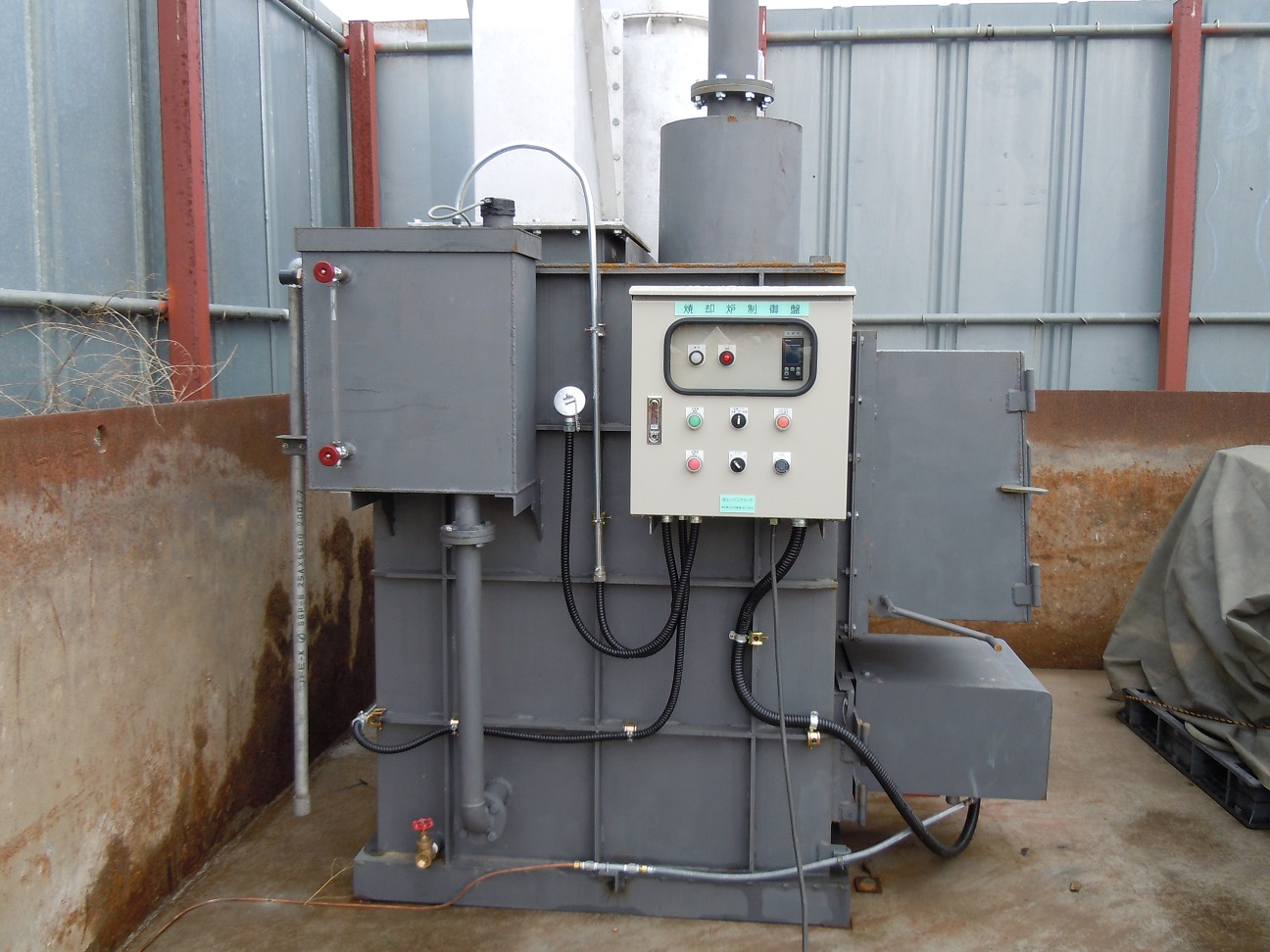 Y-30型焼却炉 越谷市 解体業