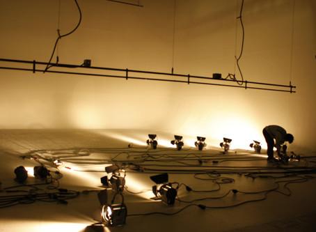 電源周り・バトン・機材の点検中です!
