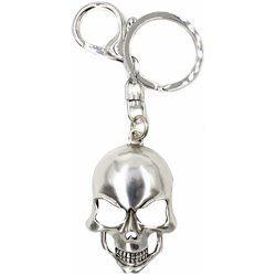 Porte-clefs tête de mort métal / ROKA CONCEPTS - BOUTIQUE CADEAUX INSOLITE - YVERDON-LES-BAINS