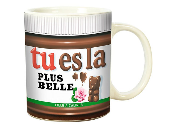 Mug La + Belle / Boutique Cadeaux Insolite / Roka La Poulpe ROKA CONCEPTS Yverdon-les-Bains