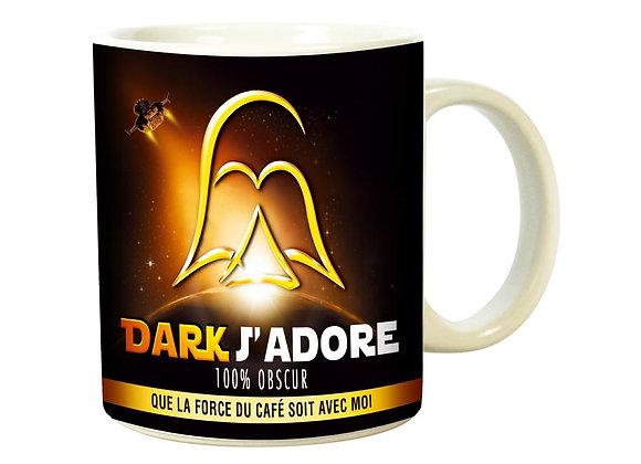 Mug Dark J'adore / Boutique Cadeaux Insolite / Roka La Poulpe ROKA CONCEPTS Yverdon-les-Bains