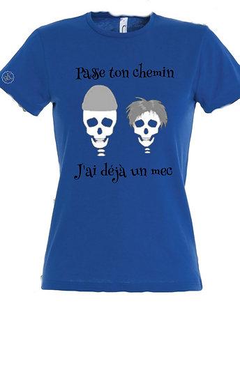 T-shirt Humour PasseTon / Marque ROKTOPODE de Roka La Poulpe avec ROKA CONCEPTS - BOUTIQUE CADEAU INSOLITE- YVERDON-LES-BAINS