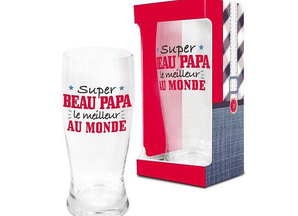 Verre à Bière -  Beau Papa / ROKA CONCEPTS  rokaconcepts.ch