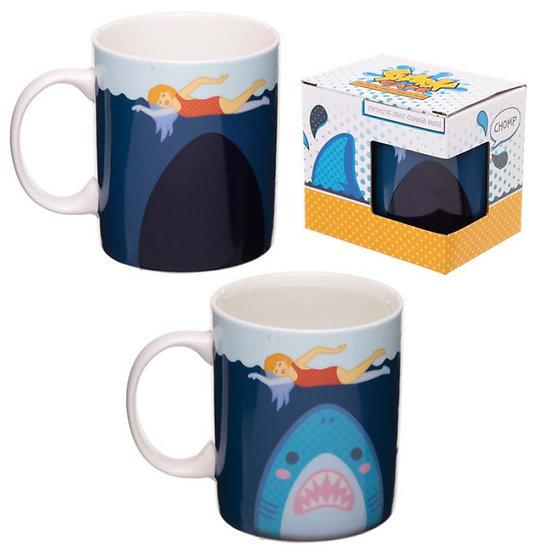 Idée Cadeau Insolite MUG Requin Thermo réactif / ROKA CONCEPTS - BOUTIQUE CADEAUX INSOLITE - YVERDON-LES-BAINS