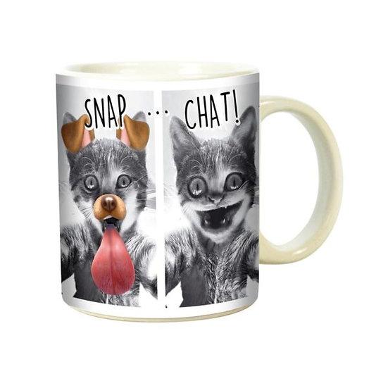Mug  Snap Chat / Boutique Cadeaux Insolite / Roka La Poulpe ROKA CONCEPTS Yverdon-les-Bains