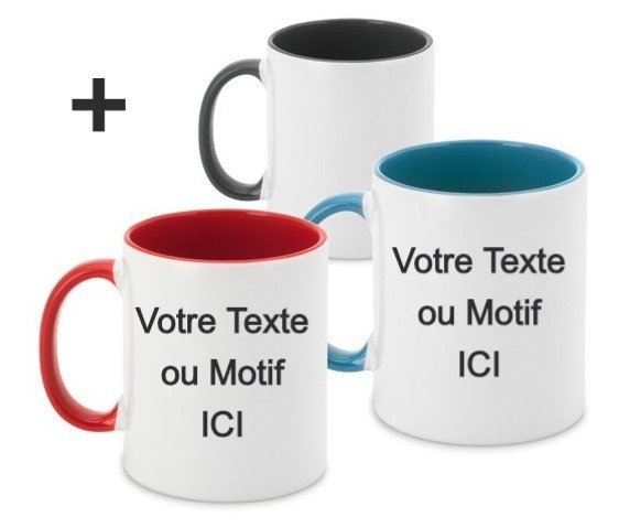Impression Mug Color 2 Face