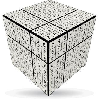 Sudoku - Jeu Cube / ROKA CONCEPTS - BOUTIQUE CADEAUX INSOLITE - YVERDON-LES-BAINS