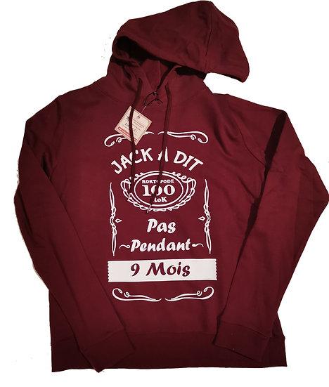 Sweat Humour Jackàdit / Marque ROKTOPODE de Roka La Poulpe avec ROKA CONCEPTS - BOUTIQUE CADEAU INSOLITE- YVERDON-LES-BAINS