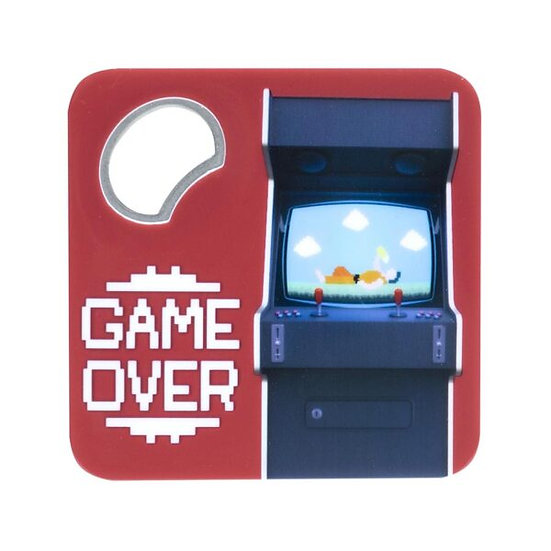 Décapsuleur Game Over / Boutique Cadeaux Insolite / Roka La Poulpe ROKA CONCEPTS Yverdon-les-Bains