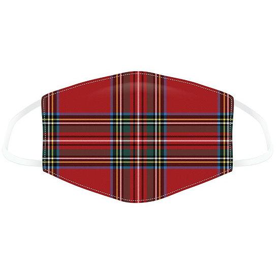 Masque Barrière - Écossais/ ROKA CONCEPTS - BOUTIQUE CADEAUX INSOLITE - YVERDON-LES-BAINS