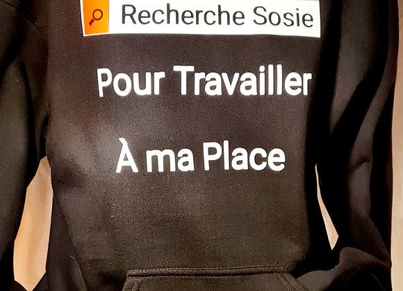 Hoodie -  Recherche... / Marque ROKTOPODE de Roka La Poulpe avec ROKA CONCEPTS - BOUTIQUE CADEAU INSOLITE- YVERDON-LES-BAINS