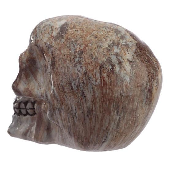 Crâne Skull Effet Marbre / ROKA CONCEPTS - BOUTIQUE CADEAUX INSOLITE - YVERDON-LES-BAINS