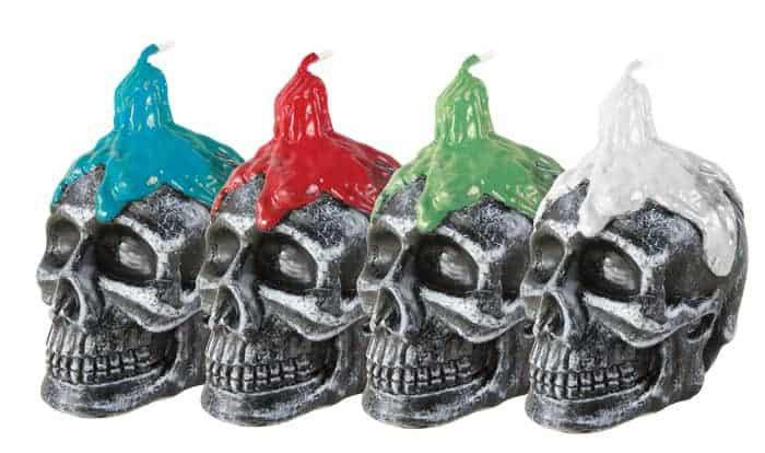Bougie - Skull / ROKA CONCEPTS - BOUTIQUE CADEAUX INSOLITE - YVERDON-LES-BAINS