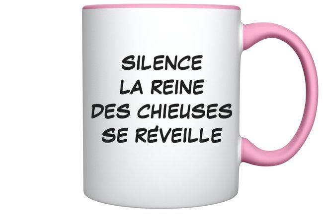Mug Humour Chieuse / Marque ROKTOPODE de Roka La Poulpe avec ROKA CONCEPTS - BOUTIQUE CADEAU INSOLITE- YVERDON-LES-BAINS