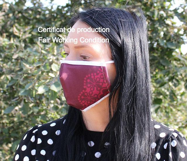 Masque Barrière - Love / ROKA CONCEPTS - BOUTIQUE CADEAUX INSOLITE - YVERDON-LES-BAINS