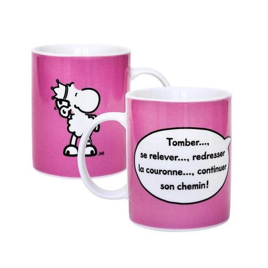 Mug  Tomber se relever / Boutique Cadeaux Insolite / Roka La Poulpe ROKA CONCEPTS Yverdon-les-Bains