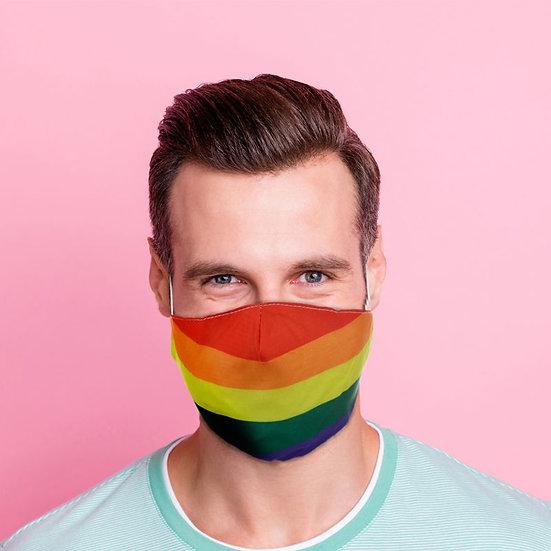 Masque Barrière - Rainbow / ROKA CONCEPTS - BOUTIQUE CADEAUX INSOLITE - YVERDON-LES-BAINS