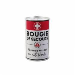 Bougie de Secours Humour / ROKA CONCEPTS - BOUTIQUE CADEAUX INSOLITE - YVERDON-LES-BAINS