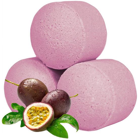Minis boules de bain effervescent - Fruits de la passion  / ROKA CONCEPTS - BOUTIQUE CADEAUX INSOLITE- YVERDON-LES-BAINS