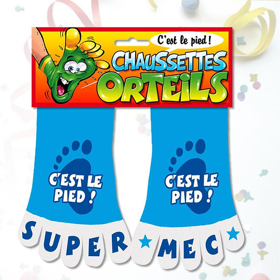 Chaussettes Orteils Humour / ROKA CONCEPTS - BOUTIQUE CADEAUX INSOLITE - YVERDON-LES-BAINS