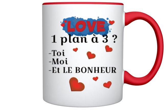 MUG / Love / La Marque ROKTOPODE de Roka La Poulpe avec ROKA CONCEPTS - BOUTIQUE CADEAU INSOLITE- YVERDON-LES-BAINS