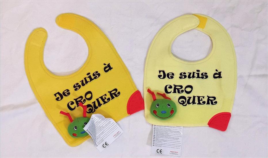 Bavette à Croquer / Marque ROKTOPODE de Roka La Poulpe avec ROKA CONCEPTS - BOUTIQUE CADEAU INSOLITE- YVERDON-LES-BAINS