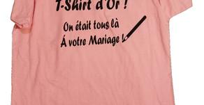 Le T-Shirt Livre d'Or
