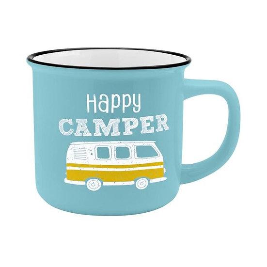 Mug Happy Camping / Boutique Cadeaux Insolite / Roka La Poulpe ROKA CONCEPTS Yverdon-les-Bains