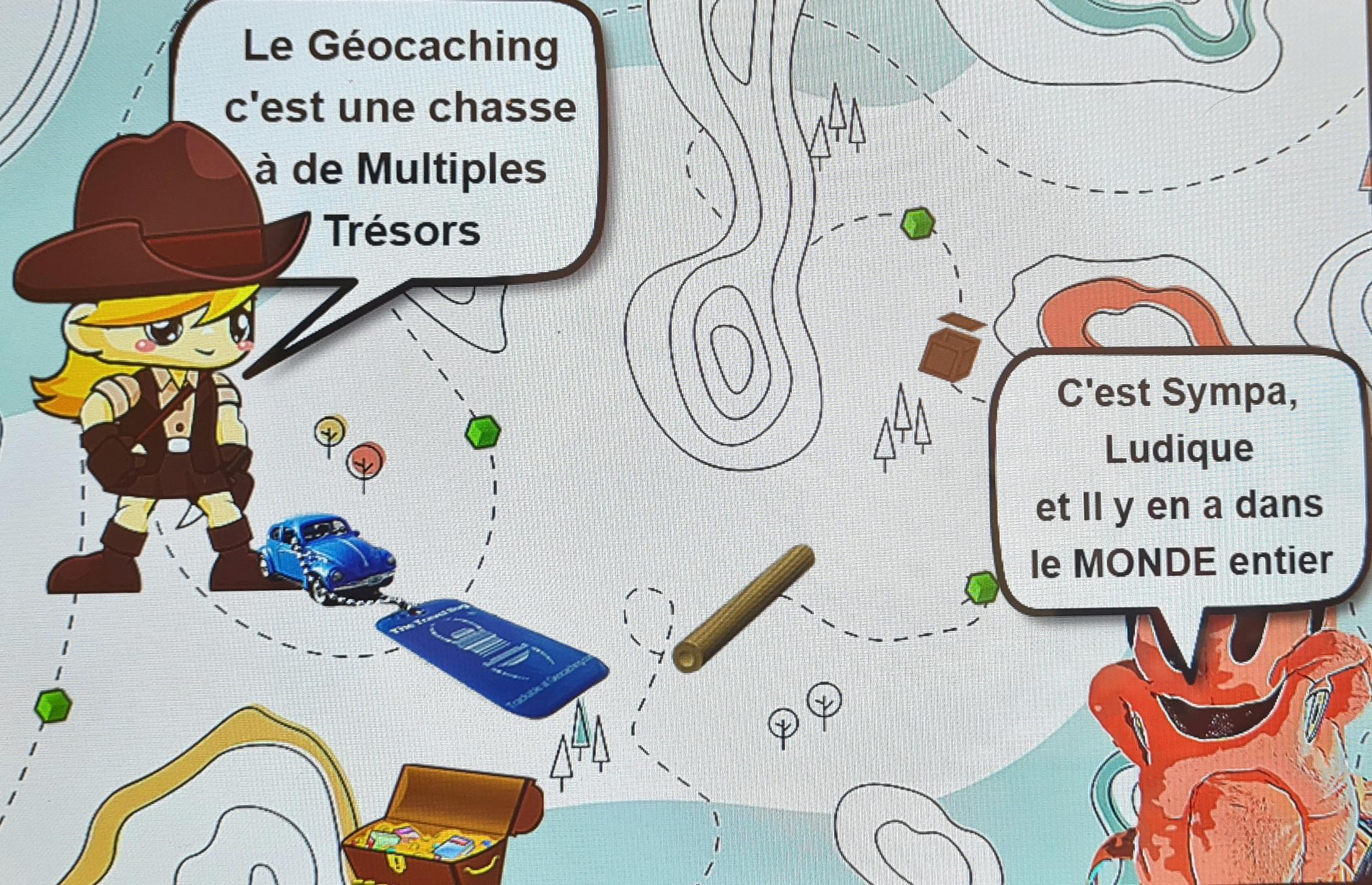 INITIATION GÉOCACHING avec La Poulpe de La Boutique ROKA CONCEPTS  - YVERDON-LES-BAINS