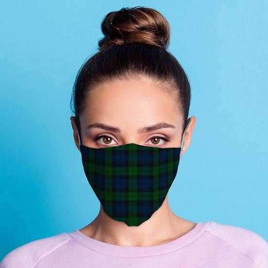 Masque Barrière - Écossais / ROKA CONCEPTS - BOUTIQUE CADEAUX INSOLITE - YVERDON-LES-BAINS