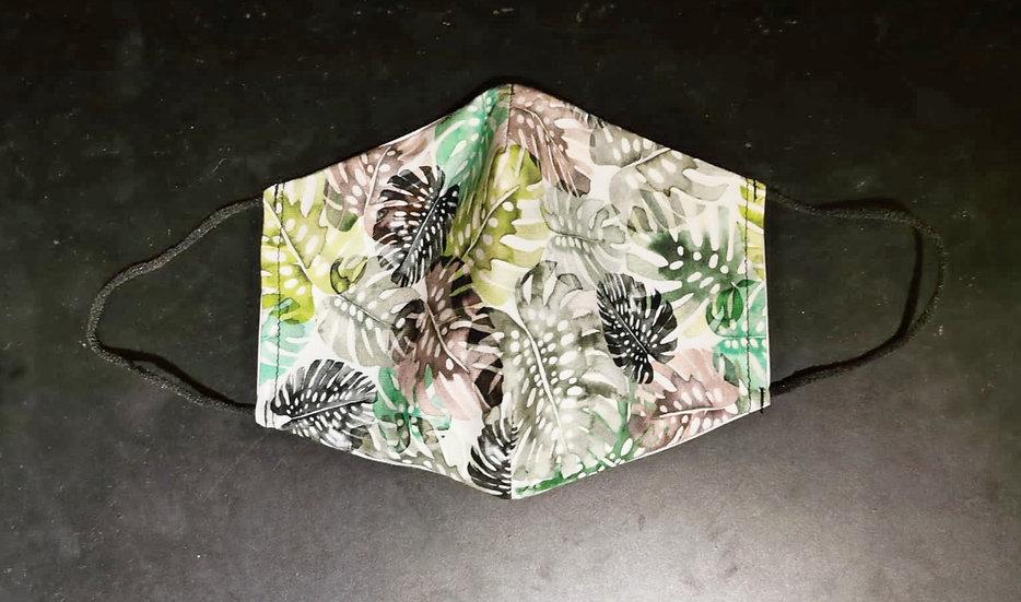 Masque Barrière/ Feuille / Création Roka Concepts / ROKA CONCEPTS - BOUTIQUE CADEAUX INSOLITE - YVERDON-LES-BAINS