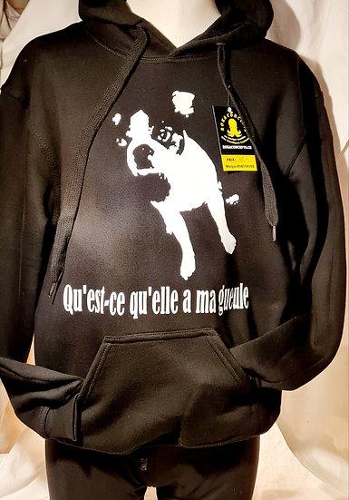 Hoodie / Ma Gueule / Marque ROKTOPODE de Roka La Poulpe avec ROKA CONCEPTS - BOUTIQUE CADEAU INSOLITE- YVERDON-LES-BAINS