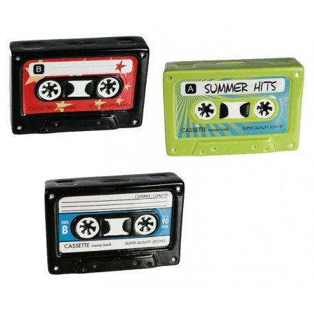 Cassette... ! Tirelire / ROKA CONCEPTS - BOUTIQUE CADEAUX INSOLITE - YVERDON-LES-BAINS