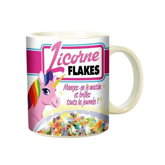 Mug  Licorne Flakes / Boutique Cadeaux Insolite / Roka La Poulpe ROKA CONCEPTS Yverdon-les-Bains