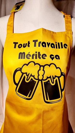 TABLIER / Bière / Marque ROKTOPODE de Roka La Poulpe avec ROKA CONCEPTS - BOUTIQUE CADEAU INSOLITE- YVERDON-LES-BAINS