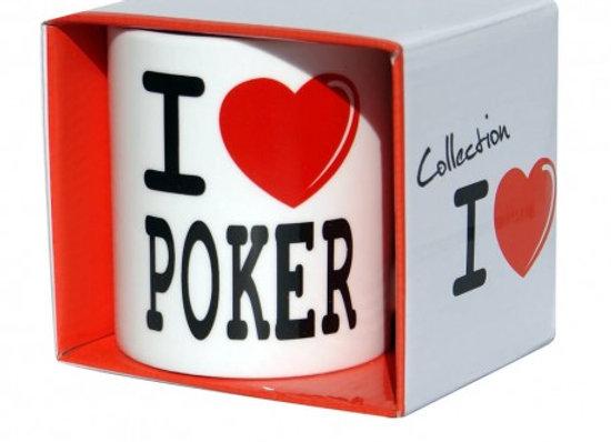 Mug J'aime le Poker / ROKA CONCEPTS - BOUTIQUE CADEAUX INSOLITE - YVERDON-LES-BAINS