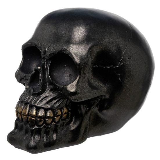 Crâne Skull Noir / ROKA CONCEPTS - BOUTIQUE CADEAUX INSOLITE - YVERDON-LES-BAINS