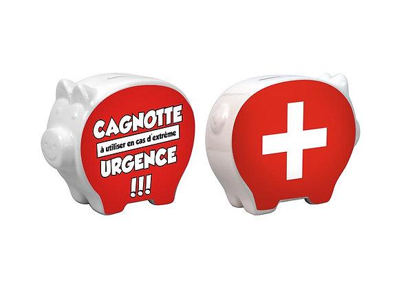 Tirelire / D'urgence / Boutique Cadeaux Insolite / Roka La Poulpe ROKA CONCEPTS Yverdon-les-Bains