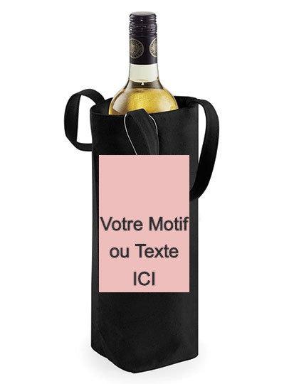 Impression Sac à Vin Noir
