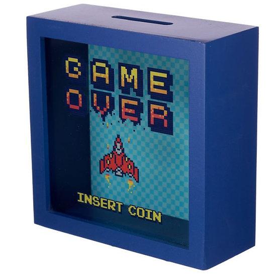 Game Over Tirelire / ROKA CONCEPTS - BOUTIQUE CADEAUX INSOLITE - YVERDON-LES-BAINS