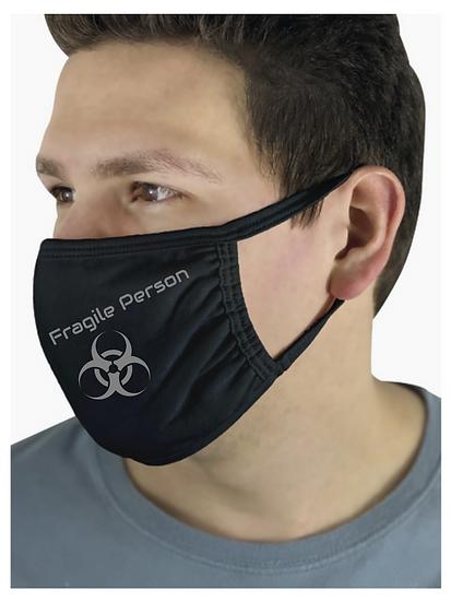 Masque Barrière / Déco Fragile Person / Impression Roka Concepts - BOUTIQUE CADEAUX INSOLITE - YVERDON-LES-BAINS