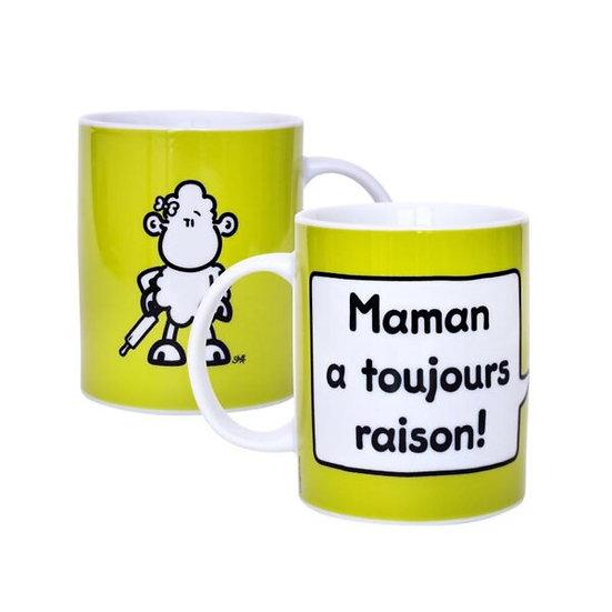 Mug Maman a toujours raison / Boutique Cadeaux Insolite / Roka La Poulpe ROKA CONCEPTS Yverdon-les-Bains