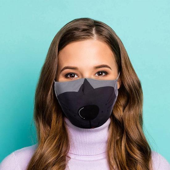 Masque Barrière - Chien / ROKA CONCEPTS - BOUTIQUE CADEAUX INSOLITE - YVERDON-LES-BAINS