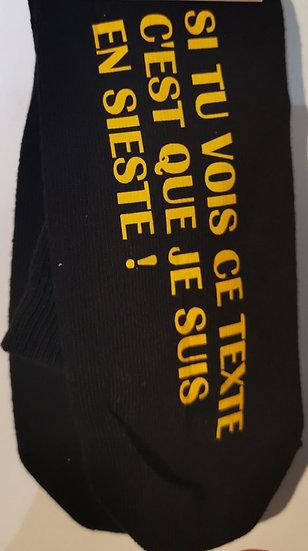 Chaussette Sieste / ROKTOPODE de Roka La Poulpe avec ROKA CONCEPTS - BOUTIQUE CADEAU - YVERDON-LES-BAINS