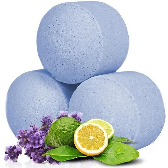 Minis boules de bain effervescent - Lavande Bergamote  / ROKA CONCEPTS - BOUTIQUE CADEAUX INSOLITE- YVERDON-LES-BAINS