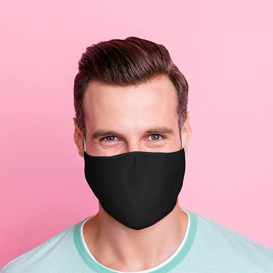 Masque Barrière - Noir / ROKA CONCEPTS - BOUTIQUE CADEAUX INSOLITE - YVERDON-LES-BAINS