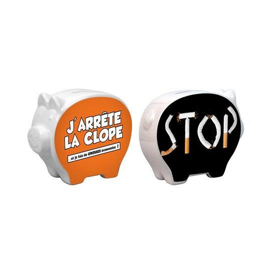 Tirelire / Stop la Clope / Boutique Cadeaux Insolite / Roka La Poulpe ROKA CONCEPTS Yverdon-les-Bains