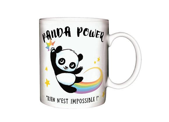 Mug Panda Power / Boutique Cadeaux Insolite / Roka La Poulpe ROKA CONCEPTS Yverdon-les-Bains
