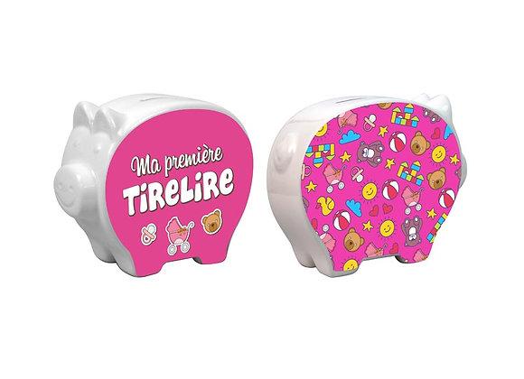 Tirelire / Fille / Boutique Cadeaux Insolite / Roka La Poulpe ROKA CONCEPTS Yverdon-les-Bains